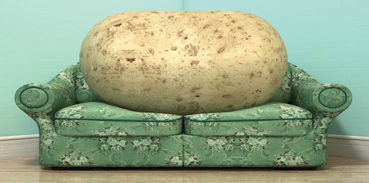 Potato on a Couch