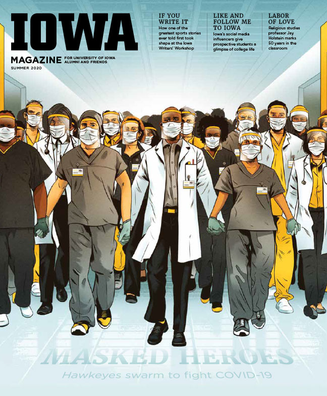 Iowa Magazine Summer Issue Cover