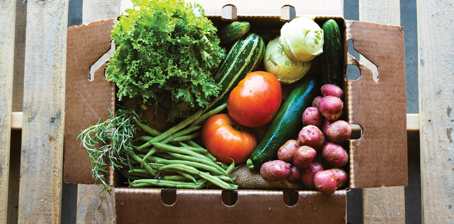 Produce in a Box