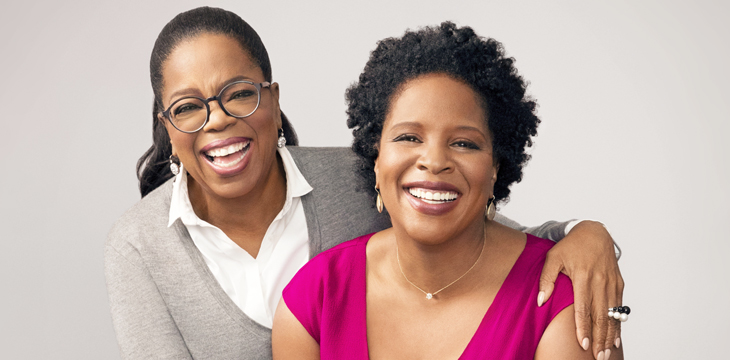 Oprah Winfrey and Tayari Jones